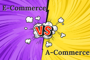 ecommerce and a-commerce website